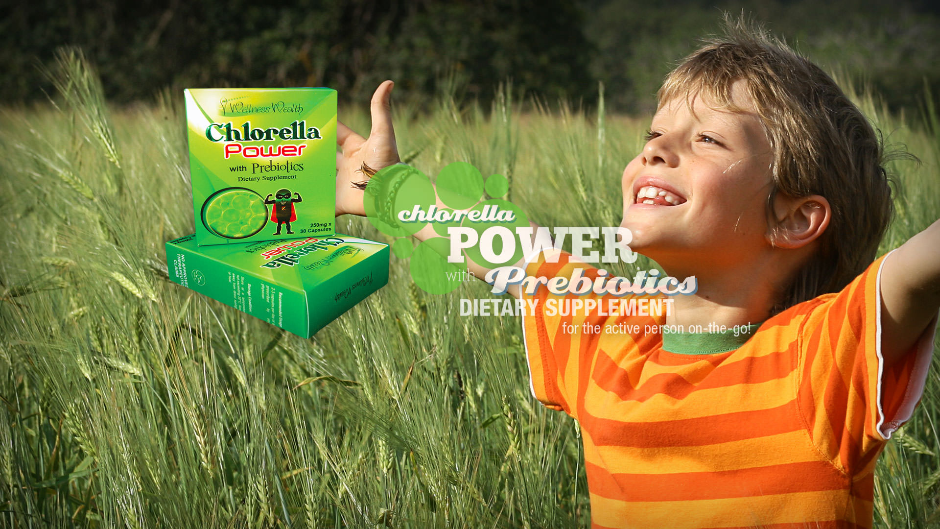 TJ Chlorella Capsules with Probiotics