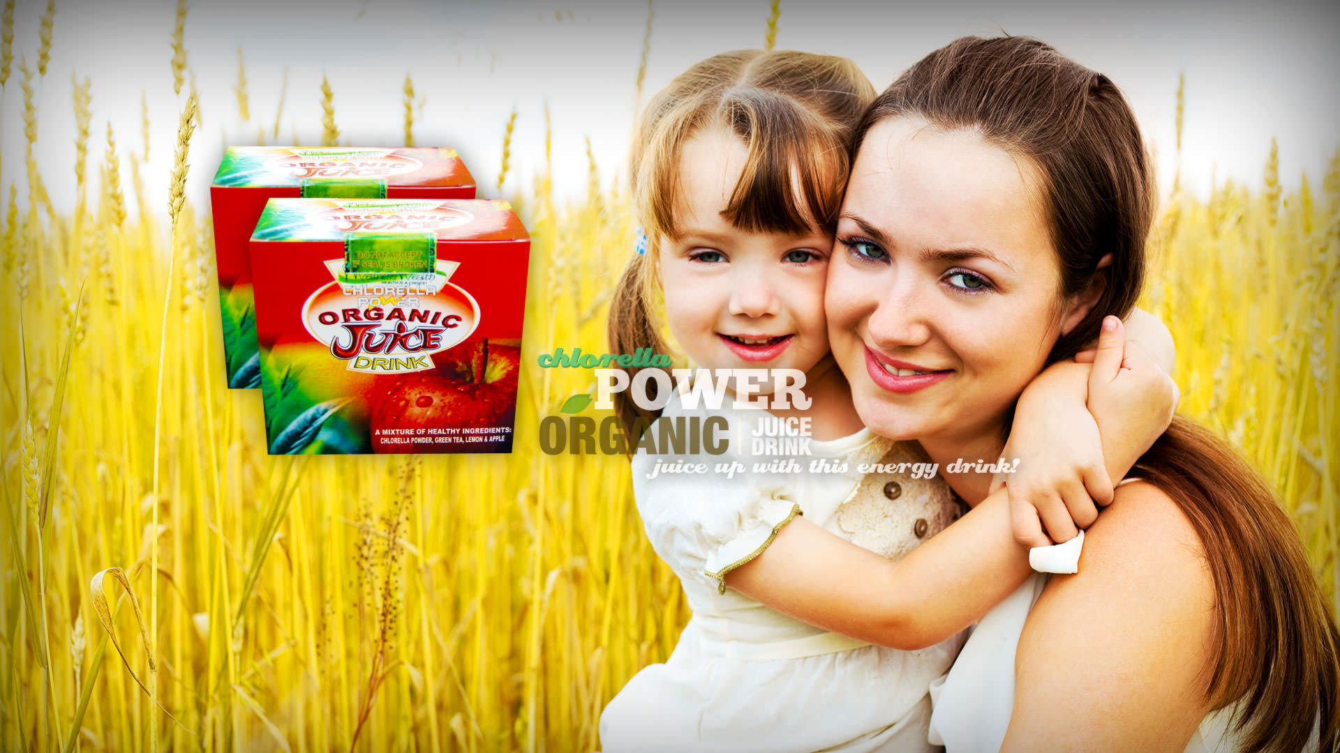 TJ Chlorella Organic Power Juice